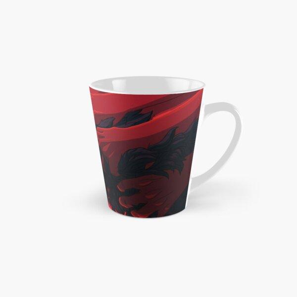 Fatigued – by purkissaART Tall Mug
