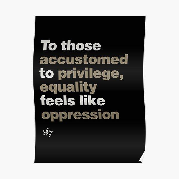 Privilege RBG Poster
