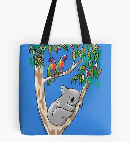 Sweet Dreams Sleeping Koala Tote Bag