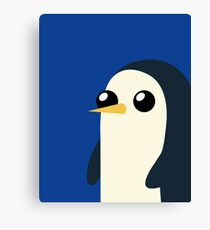 Adventure Time Gunter Canvas Print