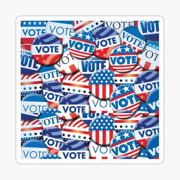 Please Vote Sticker