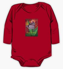 Two Tulips Happy Birthday Greeting Kids Clothes