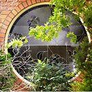 Beautiful round window on one of my walks. by EdsMum