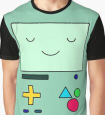 Adventure Time BMO Graphic T-Shirt