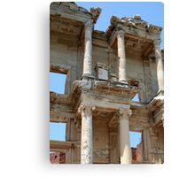 Ephesus, Celsus Library Canvas Print