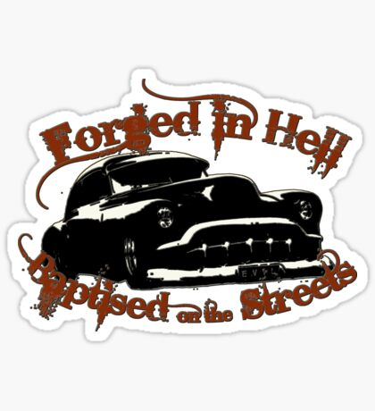 Forged in Hell Sticker
