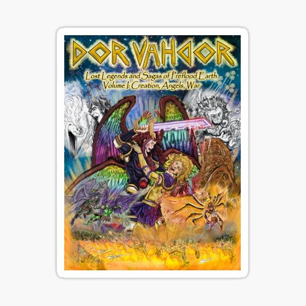 The Official Dor Vahdor Volume I Book Cover Sticker