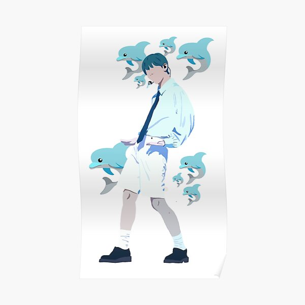 Soobin dolphin fancam art Poster