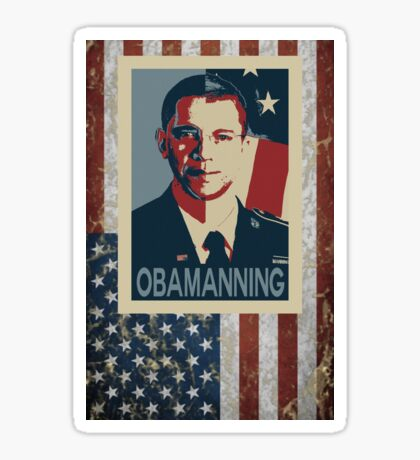 Obamanning Sticker