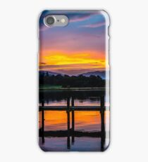 Bowness sundown iPhone Case/Skin