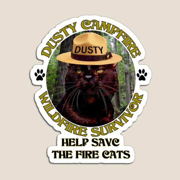 Ayuda a salvar a los gatos de fuego Imán