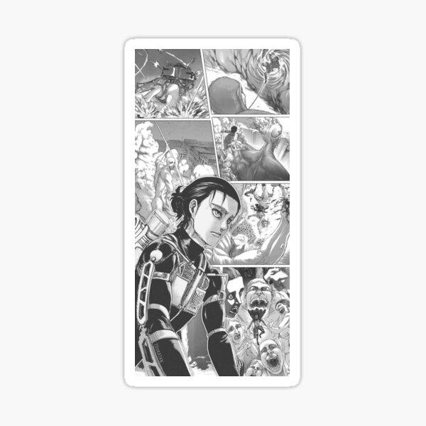 Eren Wallpaper Season 4 Shingeki No Kyojin Sticker By Chat Noirci Redbubble
