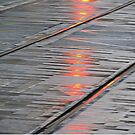 Tram Rail Abstract by Alexandra Lavizzari