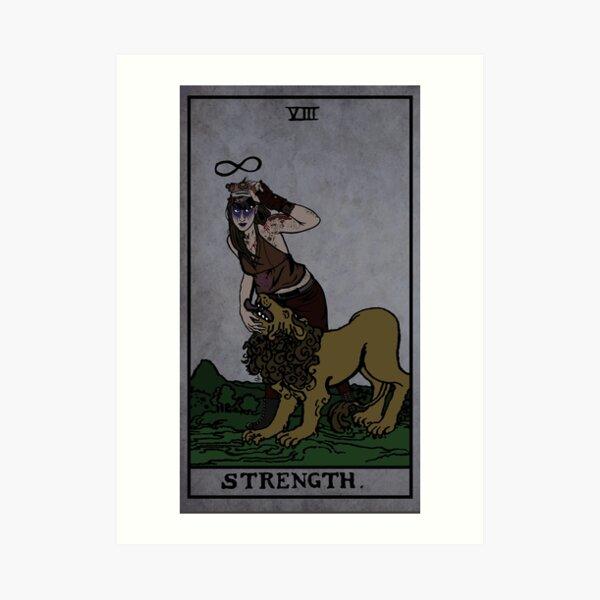 [CUSTOM CARD] Strength - Natalie Art Print