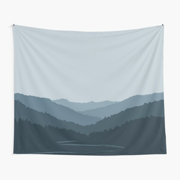 Evergreen Forest - Misty Tapestry