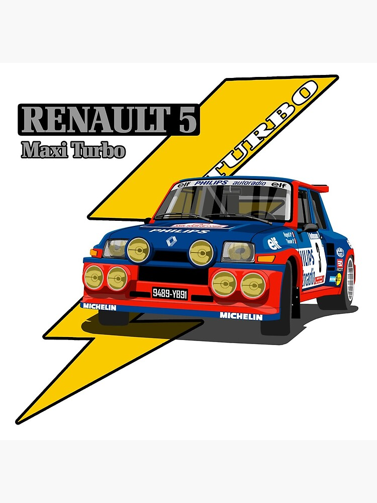 Renault 5 Maxi Turbo de quicoaznar