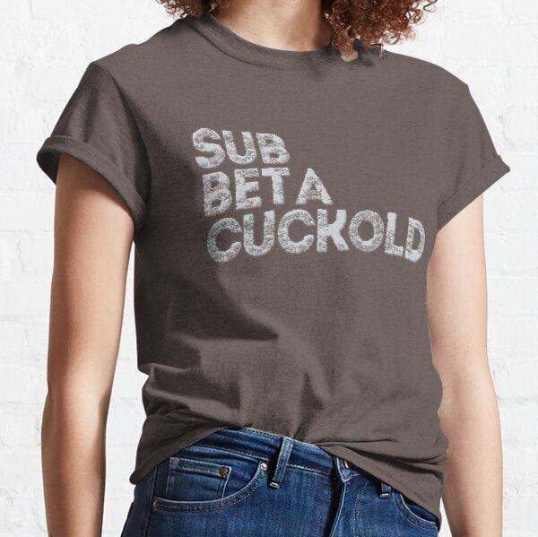 sumisa beta cornudo Camiseta clásica