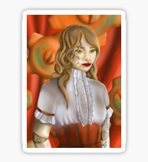 Steam punk ball jointed Doll Sticker
