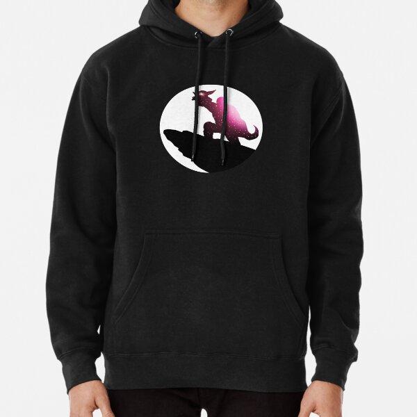 Silhouette (Fuchsia) Pullover Hoodie