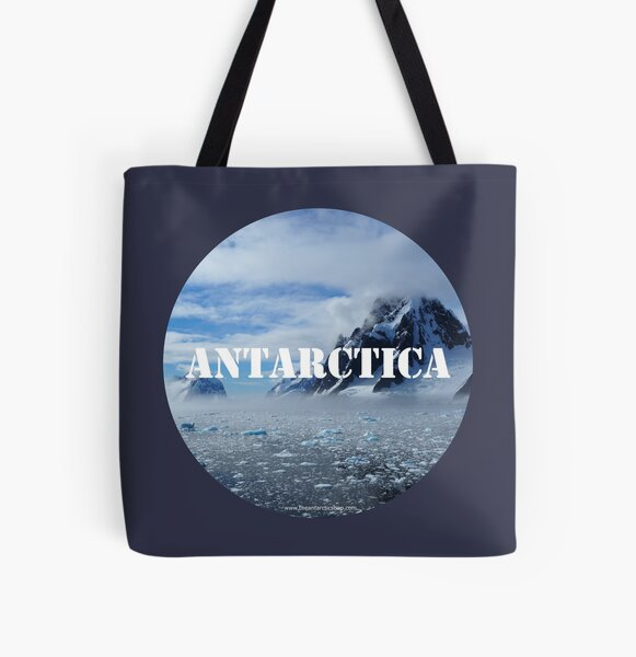 Antarctica All Over Print Tote Bag