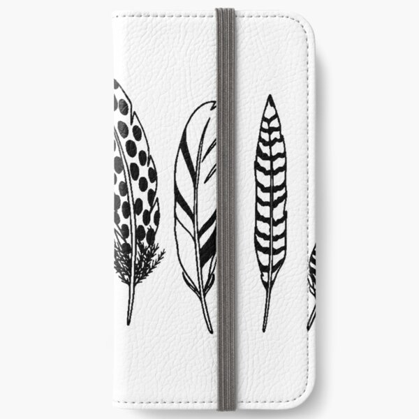 Plumes iPhone Wallet