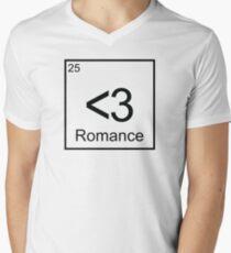 The Element of Romance Mens V-Neck T-Shirt