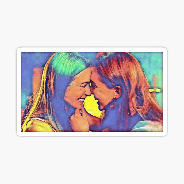 Wayhaught Engagement Sticker