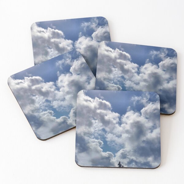 THE SKY BLUE Coasters (Set of 4)