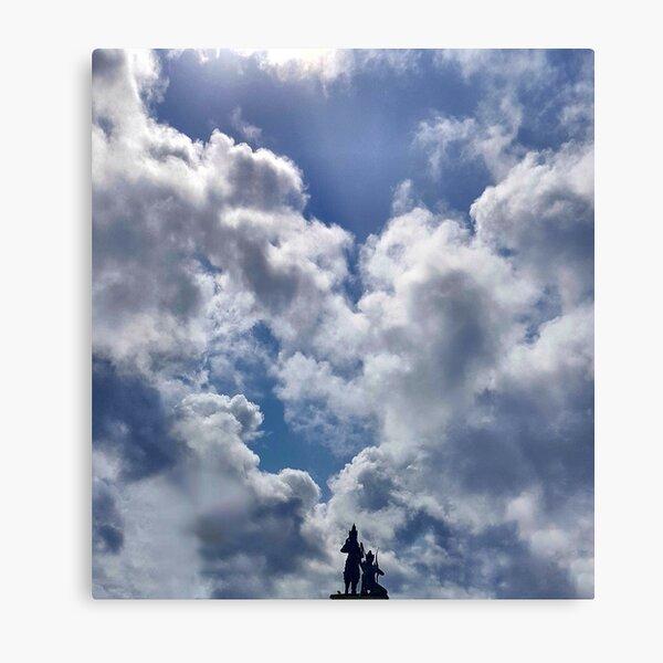 THE SKY BLUE Metal Print