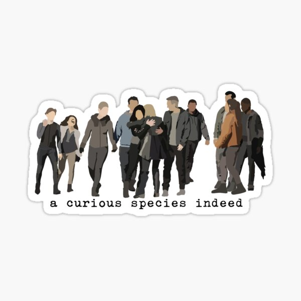 A Curious Species Indeed Sticker