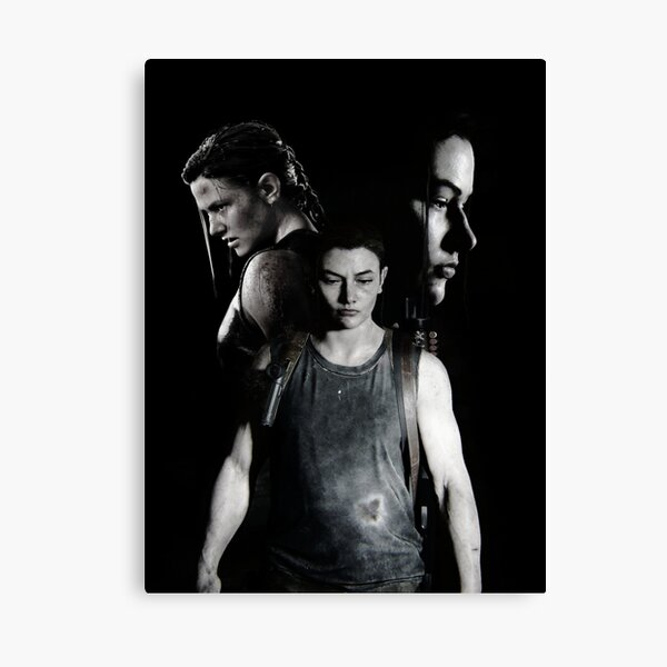 Abby The Last Of Us  Impression sur toile