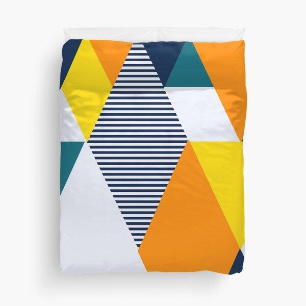 Geometric Shapes  Duvet Cover