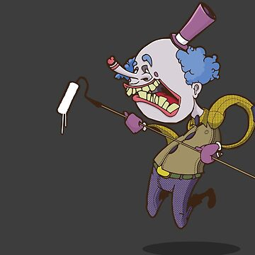 Buffy the Clown Roller Graffiti Character by Jawnism