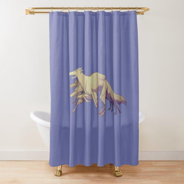 Running Borzoi Tally Ho Shower Curtain