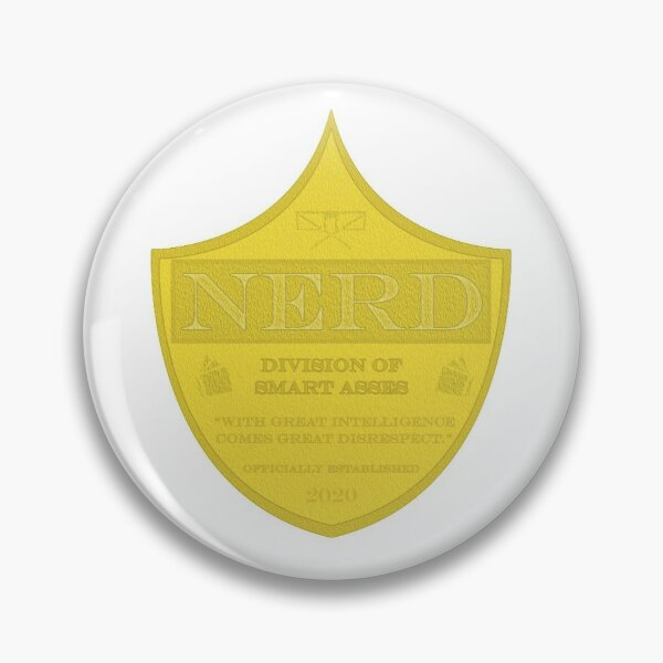 Nerd Badge Pin