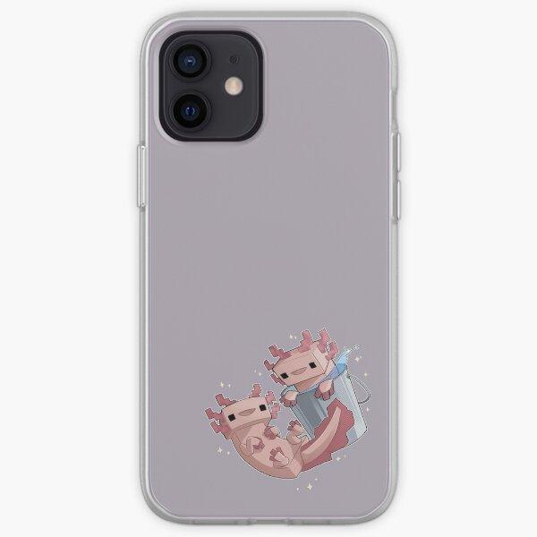 Block Axolotls iPhone Soft Case