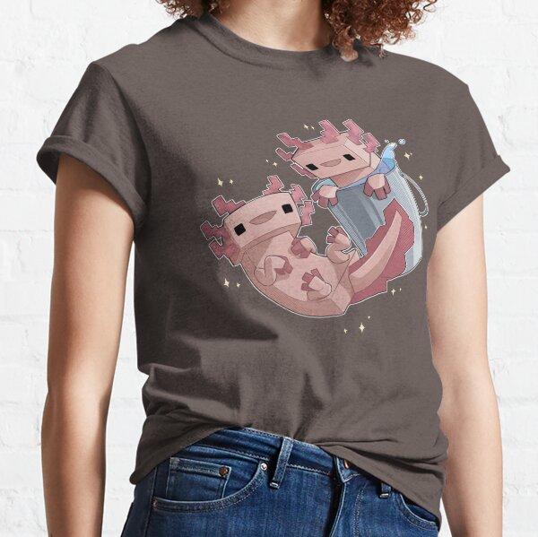 Block Axolotls Classic T-Shirt