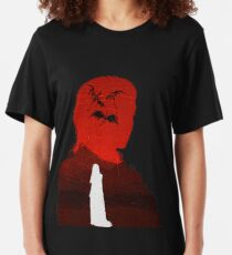 Daenerys Targaryen - Fire and Blood Slim Fit T-Shirt