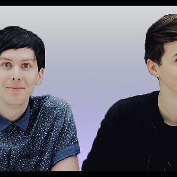 Dan & Phil   Lavender gradient by Felizia00