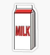 Milk carton Sticker