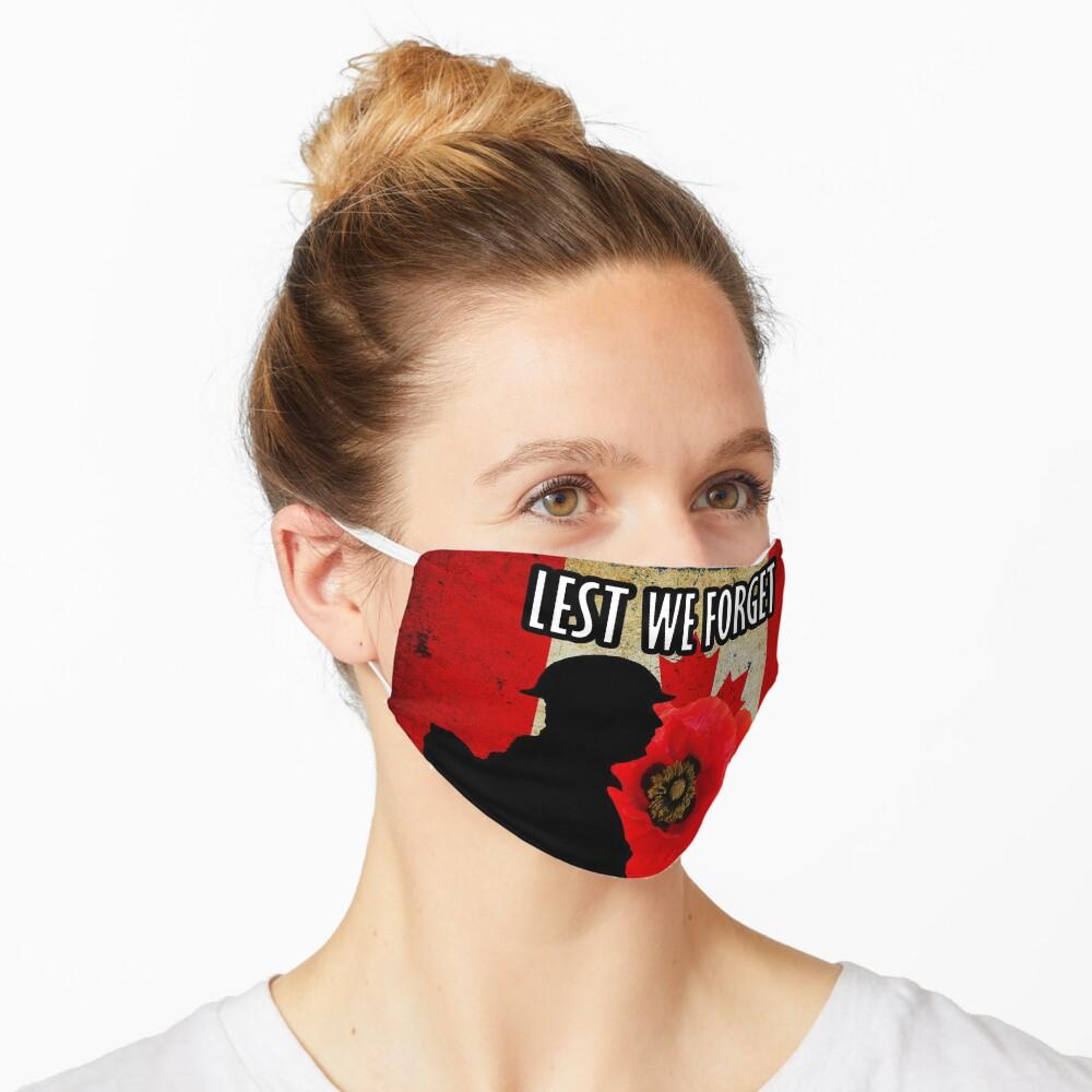 Lest We Forget Masks Mask