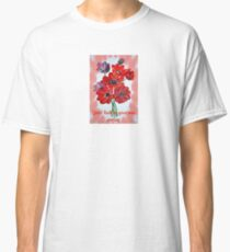 Good Luck In Your New Venture Anemone Greeting Classic T-Shirt