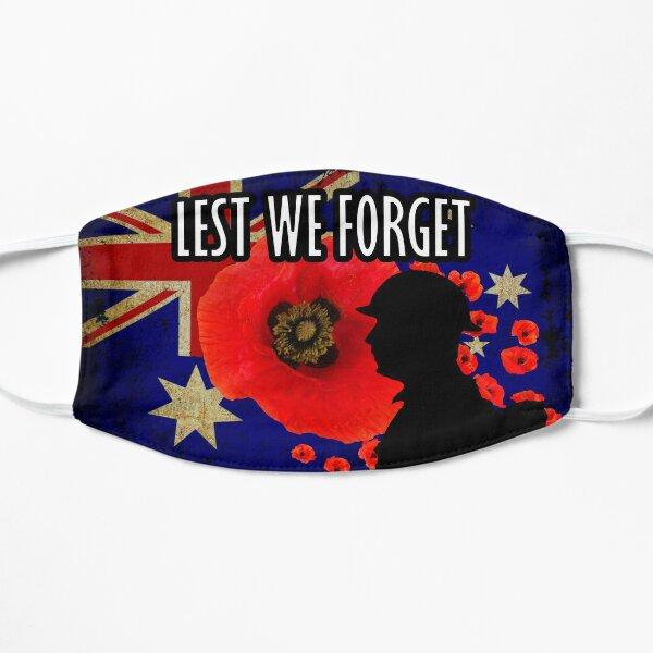 Lest We Forget Masks Flat Mask