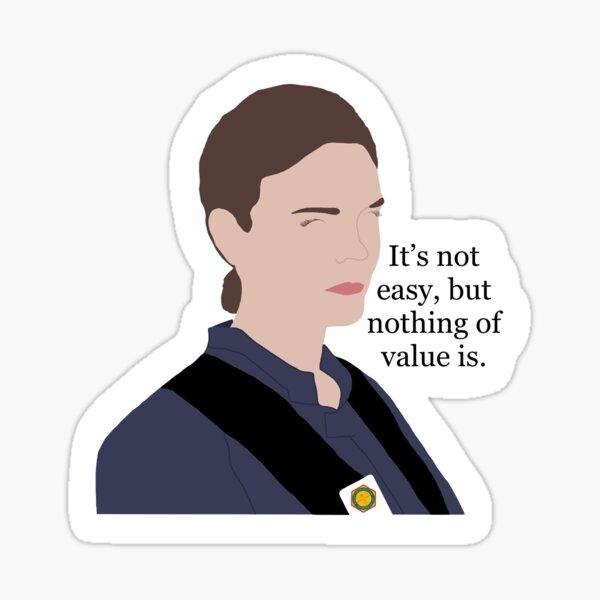 Bones TV Show Quote - Temperance Brennan Sticker
