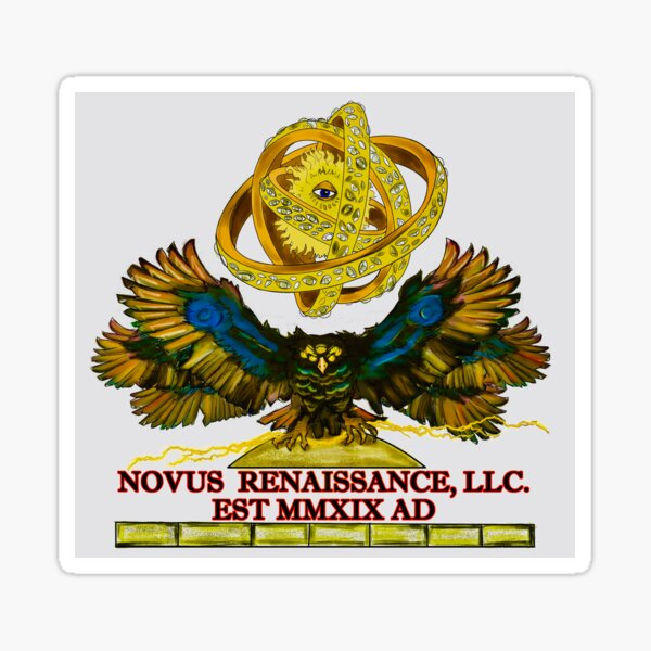 The Official Novus Renaissance Logo Sticker