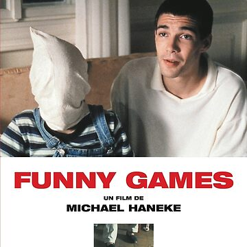 Funny Games Poster by SenorFreshco