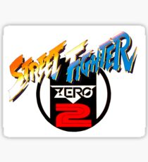 Street Fighter Zero 2 Sticker