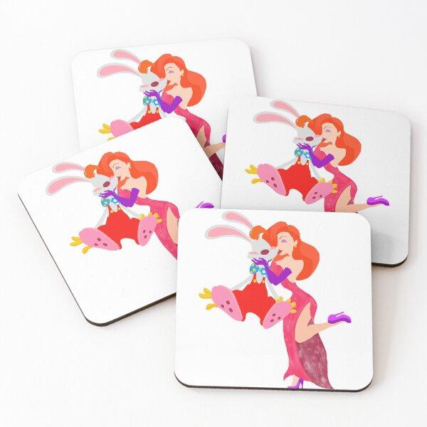 Oh, Honey Bunny! Coasters (Set of 4)
