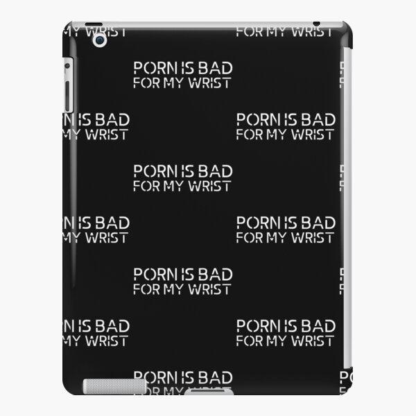 Porn Is Bad iPad Snap Case