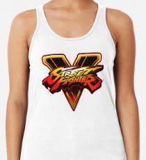 Camiseta con espalda nadadora Street Fighter V
